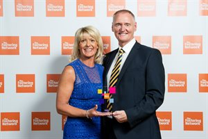 Foster carer - Lesley and Mark